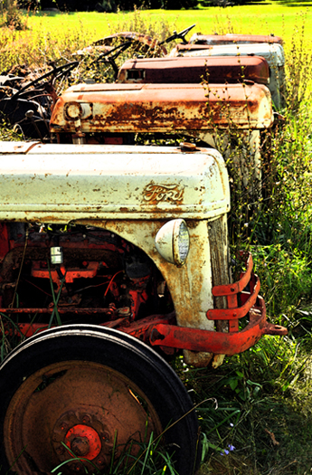 Worn Out Tractors