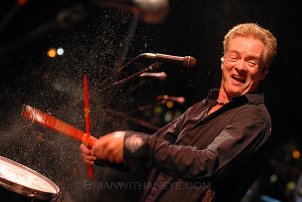 Byrne Bangs A Drum